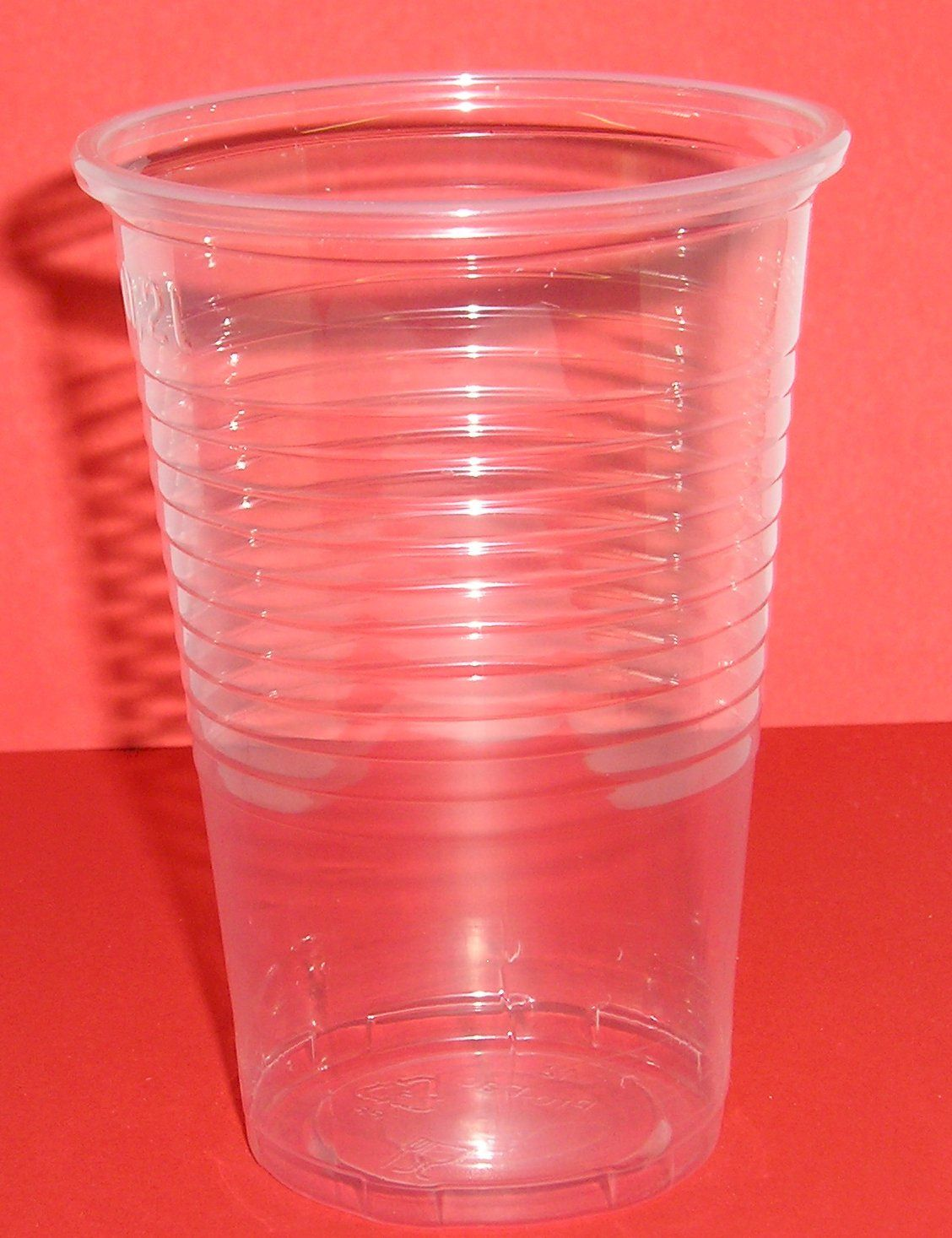 Sleeve Water Cooler Clear Plastic Cups X 100